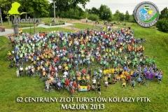 11.08.2013 62 Centralny Zlot Turystów Kolarzy PTTK w Wilkasach