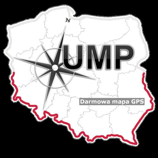 Darmowa Mapa Polski dla GPS Garmin - UMP-pcPL